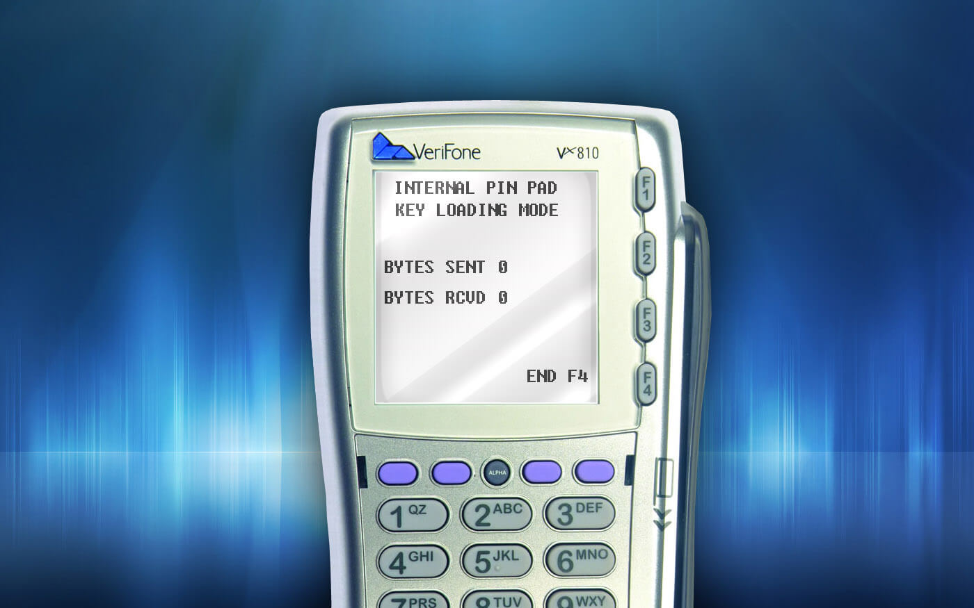 Сброс TAMPER на пин-паде VeriFone VX810