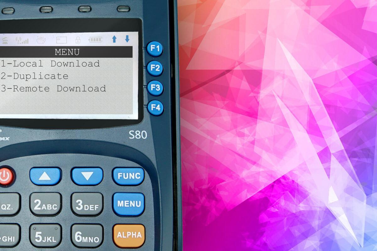 Настройка яркости экрана на PAX S80
