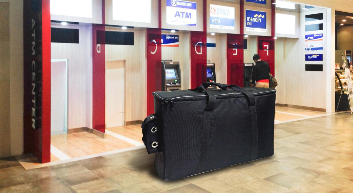 Сумки для переноски кассет банкоматов