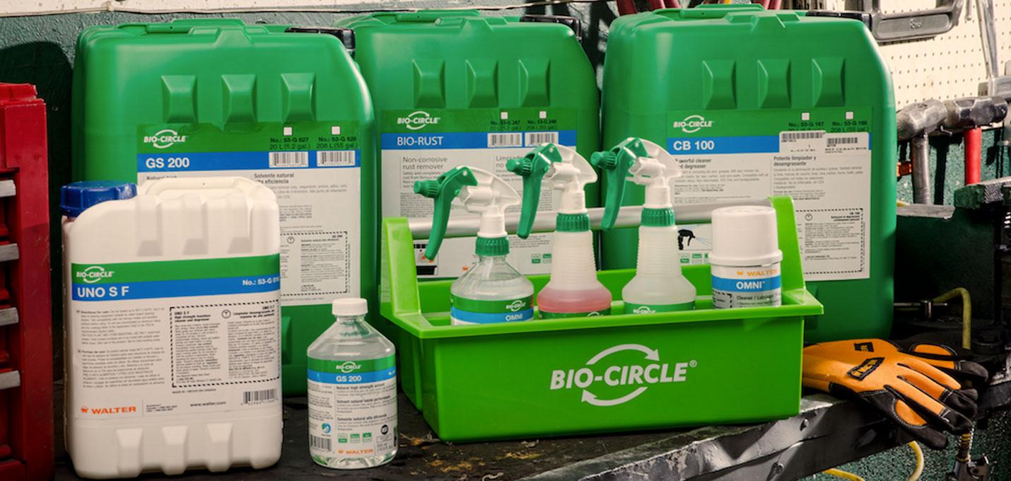 В продажу поступили чистящие средства Bio-Circle