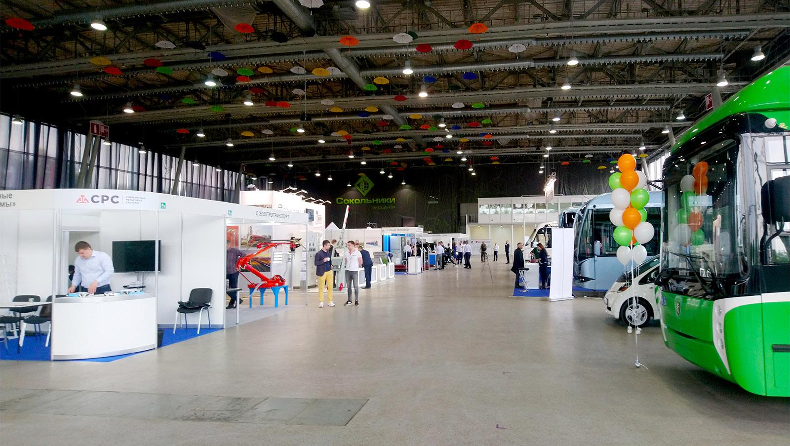 Компания МСТ на выставке Российская Неделя Общественного Транспорта 2019